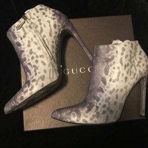 Gucci Booties. Sz 40.5